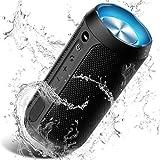 Wireless Bluetooth Lautsprecher Tragbare, Verbesserter IP67 Wasserschutz, 24 Watt Wireless 360° Sound Kabelloser Lautsprecher Tragbarer mit eingebautem...