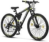 Licorne Bike Effect Premium Mountainbike in 29 Zoll Aluminium, Fahrrad für Jungen, Mädchen, Herren und Damen - Shimano 21 Gang-Schaltung - Herrenrad -...