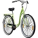 Galano Summer 28 Zoll Singlespeed Hollandrad Damenrad 700c Fixie Fahrrad Single Speed Bike Fixed Gear (pastellgrün, 48 cm)