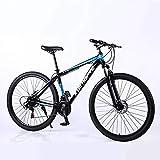YCHBOS 29 Zoll 21/24/27 Geschwindigkeit Mountainbike MTB Fahrrad Scheibenbremsen Unisex für Erwachsene, Tragbar, Langlebig, MTB Hardtail, Freien...