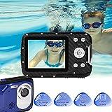 GDC8026 wasserdichte Digitalkamera / 8X Digitalzoom / 16 MP / 1080P FHD / 2,8' TFT-LCD-Bildschirm/Unterwasserkamera für...