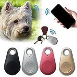 CULER Haustiere Mini-GPS-Tracker-verlorenes Wasserdichtes Tracer für Haustier Hund Katze Schlüssel-Mappen-Beutel-Kind-Trackers Schwarz