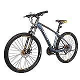 NENGGE Mountainbike 27.5 Zoll Erwachsenen, Hardtail MTB 27 Gang-Schaltung für Herren und Damen, Gabelfederung Fahrräder, Scheibenbremsen & Aluminiumlegierung...