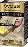 SYOSS Oleo Intense Permanente Öl-Coloration 9-11 Kuehles Blond, mit pflegendem Öl & ohne Ammoniak, 3er Pack (3 x 115 ml)
