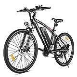 VIVI E-Bike 27,5 Zoll Elektrofahrrad Herren Damen,500W Motor E-Mountainbike mit 48V/10,4Ah Batterie Abnehmbar, Shimano 7 Gang-Schaltung,32 km/h Fullspeed E-MTB