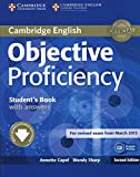 Capel, A: Objective Proficiency Student's Book with Answers