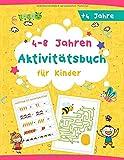 (4-8 Jahren) Aktivitätsbuch für Kinder: Tolles Aktivitäten Buch für Kinder, Malvorlagen | labyrinth | sudoku | Rätsel | punkt zu punkt, ideal für...