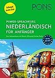 PONS Power-Sprachkurs Niederländisch für Anfänger: Der Intensivkurs mit Buch, CDs und Online-Tests