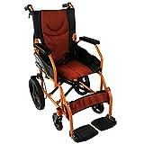 Mobiclinic, Faltrollstuhl, Pirámide, Europäische Marke, orthopädisch, Sitzfläche 41 cm, Rollstuhl für Ältere und behinderte Menschen,Transit-Rollstuhl,...