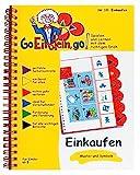 Go, Einstein, go!: Übungsbuch: Einkaufen: Das neue Lernsystem: Spielen und Lernen mit der perfekten Selbstkontrolle / Übungsbuch: Einkaufen (Go, ... und...
