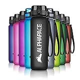ALPHAPACE Trinkflasche, auslaufsichere 1.000 ml Wasserflasche, BPA-freie Flasche für Sport, Fahrrad & Outdooraktivitäten, Sportflasche mit Fruchteinsatz, in...