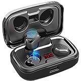 AIKELA Bluetooth Kopfhörer Kabellos in Ear,Wireless Kopfhörer Sport Ohrhörer Bluetooth 5.0 Headset mit LED Digitalanzeige,140 Stunden Spielzeit,IPX7...