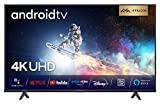 iFFALCON 55K610 LED Fernseher 55 Zoll (139 cm) Smart TV (4K Ultra HD, MEMC, Dolby Vision, Android TV, inklusive Sprachfernbedienung, Prime Video, Google...