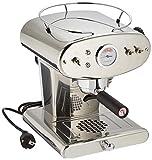 illy Kaffee, Kaffemaschine für gemahlenen Kaffee X1, Inox