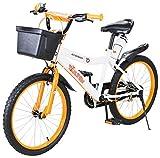 Actionbikes Kinderfahrrad Timson - 20 Zoll - V-Break Bremse vorne - Seitenständer - Luftbereifung - Ab 4-9 Jahren - Jungen & Mädchen - Kinder Fahrrad -...