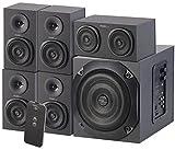 auvisio Soundsysteme: Analoges 5.1-Lautsprecher-System für PC, TV, DVD, Beamer & Co, 120 W (5.1 Soundsystem PC)