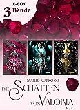 Spiel der Macht (E-Box mit allen Bänden der romantischen Fantasy-Serie) (Die Schatten von Valoria)
