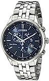 CITIZEN Herren Chronograph Quarz Uhr mit Edelstahl Armband AT2141-52L