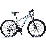 DelongKe Jungen-Herren Fahrrad, 26/29 Zoll Mountainbike Fahrrad, Mountainbike,33 Gangschaltung,Gabelfederung, Jungen-Mädchen-Fahrrad &...