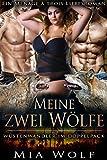 Meine zwei Wölfe: Ein Ménage à trois Liebesroman (Wüstenwandler im Doppelpack 2)