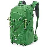 Terra Peak Flex 30 Wanderrucksack 30L grün unisex Outdoorrucksack für Wandern, Radfahren, Reisen, Sport wasserabweisendes Material, Trinksystem, mit...