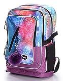 Schulrucksack Für Mädchen Teenager - Ergonomischer Kinderrucksack mit Laptopfach Für Schule - Extrem Leicht Rucksack mit Brustgurt und Reflektierenden...