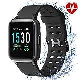 armo Smartwatch, Fitness Armband Tracker, Sportuhr mit Schrittzähler Pulsmesser Wasserdicht IP68, Voller Touch Screen Smart Watch