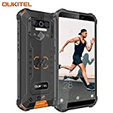 OUKITEL WP5 (2020) Outdoor Smartphone Ohne Vertrag, 4G Dual SIM IP68 wasserdichter, 8000mAh Akku Robustes Handy, 4GB 32GB Android 9.0 Global Version 5,5 Zoll...