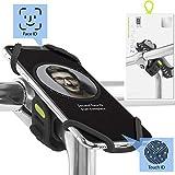 Bone Collection Face ID kompatibel, Fahrrad Handyhalterung für den Vorbau Befestigung 4 - 6,5 Zoll Smartphones, Ultra leichtes Gewicht, für Straßen-, Renn-...