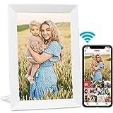 AEEZO WiFi Digitaler Bilderrahmen 9 Zoll IPS Touchscreen, Automatische Drehung, Einfache Einrichtung zur Gemeinsamen Nutzung von Fotos und Videos,...