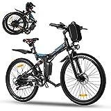 Vivi Ebike Mountainbike 26 Zoll Elektrofahrrad Klappbar Für Herren und Damen,36V 350W E-Bike mit Abnehmbare 8Ah Lithium-Ionen Batterie,Shimano 21-Gang...