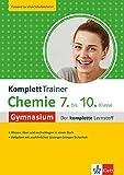 Klett KomplettTrainer Gymnasium Chemie 7.-10. Klasse: Der komplette Lernstoff