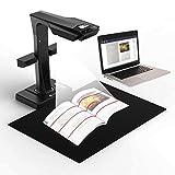 CZUR ET16 Plus Buchscanner & Dokumentenscanner Kompatibel mit Mac und Windows, Patentierte Automatische Scan und Deskew Technologie, Konvertiert in...