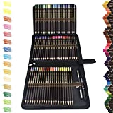 72 Buntstifte Set,Zeichnen Bleistifte Profi Art Set-Ölbasierten gemischten und bruchgeschützten Farben zum Kolorieren von Zeichnen, Schreiben,Ideal für...