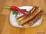 Bratwurst mit Chili, 2 Packungen 5x100g - Rostbratwurst/Grillwurst ideal für Grill und Pfanne - Original westfälisch Ringhoff