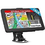 GPS Navi Navigation für Auto, 16G 256M 7 Zoll LKW PKW KFZ Navigationsgerät Lebenslang Kostenloses Kartenupdate Touchscreen POI Blitzerwarnung Sprachführung...