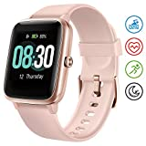 UMIDIGI Smartwatch Fitness Tracker Uwatch3, Armbanduhr Sportuhr Smart Watch für Damen Herren Kinder mit Herzfrequenz Schlaftracker 5 ATM Wasserdicht...