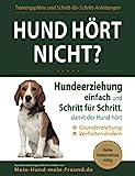 Hund hört nicht?: Hundeerziehung einfach und Schritt für Schritt, damit der Hund hört