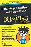 Referate präsentieren mit PowerPoint für Dummies Junior