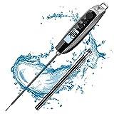 DOQAUS Fleischthermometer Grillthermometer Bratenthermometer Küchenthermometer Digital Thermometer mit 3s Sofortiges Auslesen und IPX6 Wasserdichter für...