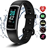 Letsfit Fitness Tracker, Schrittzähler Uhr, Wasserdicht IP68 Aktivitätstracker mit Pulsmesser, Fitness Armband pulsuhr Smartwatch für Kinder Frauen Männer...