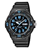 Casio Collection Herren-Armbanduhr MRW 200H 2BVEF, schwarz/Blau