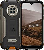 Outdoor Handy mit Nachtsicht, DOOGEE S96 Pro, 8GB + 128GB Helio G90, 48MP + 20MP Kamera, 6.22' UHD + 6350mAh + 4G Dual SIM Wasserdicht NFC GPS, Robustes Android...