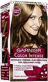 Garnier Color Intense dauerhafte Cremecoloration, 6.0 Dunkelblond / Dauerhafte Intensive Creme Coloration für permanente Haarfarbe (mit Perlmutt und...