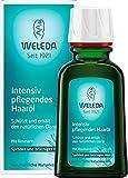 WELEDA Intensiv Pflegendes Haaröl, pflanzliche Naturkosmetik Haarkur mit Rosmarin für sprödes und brüchiges Haar, Schutz und Pflege für einen natürlichen...