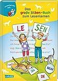 LESEMAUS zum Lesenlernen Sammelbände: Das große Silben-Buch zum Lesenlernen: Extra Lesetraining – Lesetexte mit farbiger Silbenmarkierung