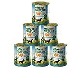 Dehner Best Nature Hundefutter Adult, Light Huhn und Karotten mit Distelöl, 6 x 800 g (4.8 kg)