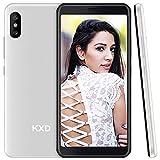 Android 4G Handy Smartphone ohne Vertrag KXD 6C, Günstig mit Dual SIM, 16GB Speicher (128 GB erweiterbar), Mobile Phone 5,5 Zoll IPS Display 8MP Kameras 3 in 1...