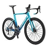 SAVADECK KOOTU Rennrad Carbon, 700C Voll Kohlefaser Fahrrad Vollintegriertes Innenkabel mit Shimano R8070 Hydraulische Scheibenbremse und ULTEGRA R8000 22...