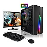 Megaport Komplett PC Gaming PC Set Intel Core i5-9400F 6x2.90GHz • 24' Bildschirm • Tastatur • Maus • Nvidia GeForce GTX1650 4GB • 16GB DDR4 •...